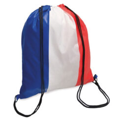 C106 - sac à dos tricolore pour activité sportive: Personnalsiation incluse!