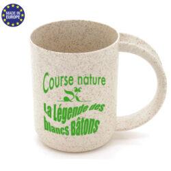 D96 - Tasse mug écologique en fibre de blé