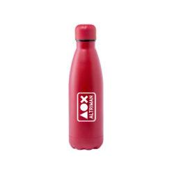 D177 - Gourde isotherme rouge cadeau lot marquage