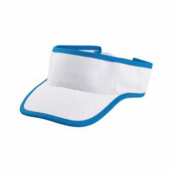 D181 Visière en polyester pour sport d'extérieur à personnaliser par sérigraphie