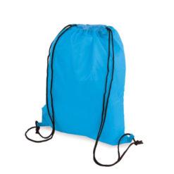 Sac à dos de gym bleu clair à personnaliser