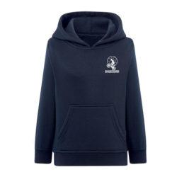 J2E-Sweat shirt enfant à capuche et poche kangourou sériraphie pour sport au collège