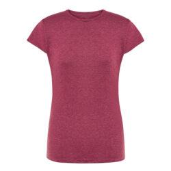 J3F-T shirt femme à manches courtes rouge