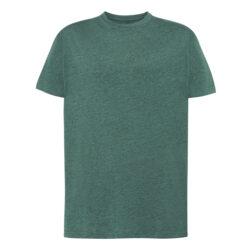 J3H-T shirt homme à manches courtes vert bouteille