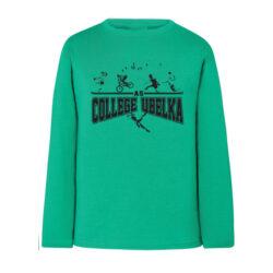 JA4-Tee Shirt manches longues 100% coton marquage serigraphie pour sport scolaire