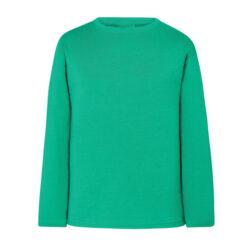 JA4-Tee Shirt manches longues 100% coton vert