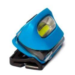 Lampe frontale avec couleur au choixavec ruban personnalisé