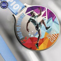 MP02 medaille 2 mm d'épaisseur en relief