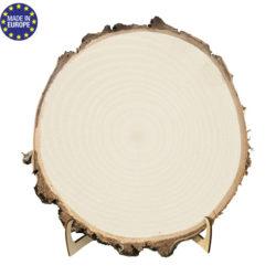 PLD200240- Trophée en bois de bouleau avec présentoir pour récompense