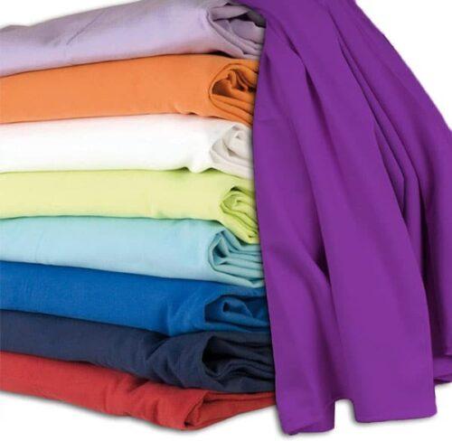 Serviette polyester lot personnalisable