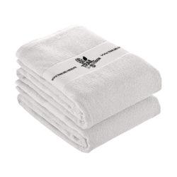 S42 - Serviette blanche 100% coton pour impression en sérigraphie