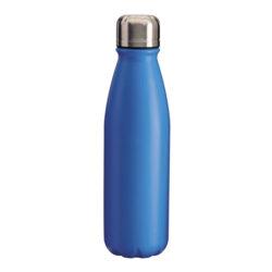 S47-bouteille en aluminium avec bouchon d'acier bleue