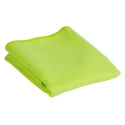 S56 Serviette en polyester avec pochette jaune