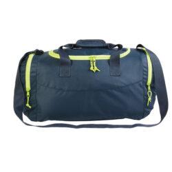 S58-Sac de sport bicolore à trois poches