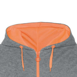Sweat zip sport personnalisable textile promotionnel