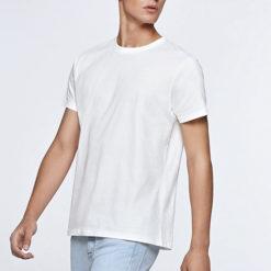 T69-Teeshirt en coton biologique pour homme dotation personnalisable