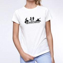 T69-Teeshirt femme coton biologique sport running
