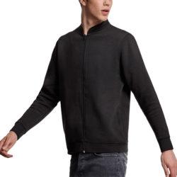 T75 veste zippée 290grs/m² Coton et polyester