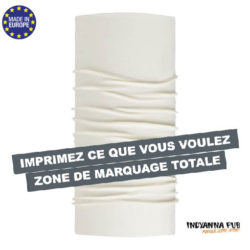 TDCM PG-Tour de cou 100% polyester avec impression en sublimation totale fait en Europe
