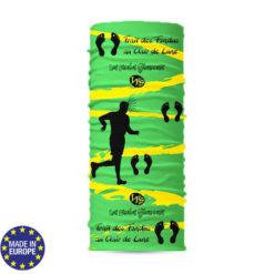 TDCM PG-Tour de cou 100% polyester avec impression en sublimation totale fait en Europe