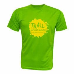 AN5 tee shirt sans manche avec logo vert