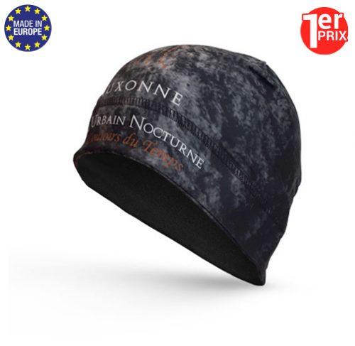 BP PG bonnet polyester en sublimation totale pour tenue club cycliste ou running