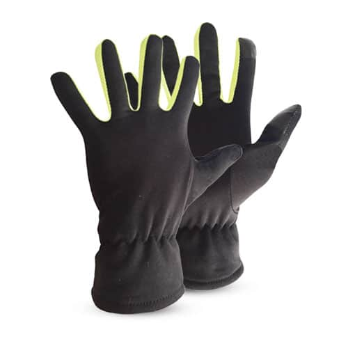 Gants polyester induction polaire