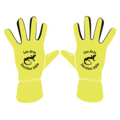 D130 Gants en polyester avec zone tactile, produit personnalisable en sérigraphie