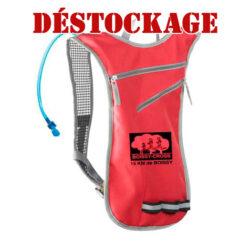 Sac à dos poche à eau marquage logo club running course