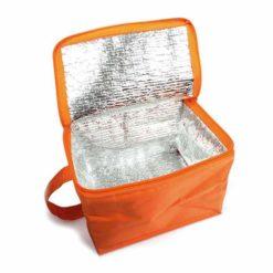 Glaciere orange publicitaire cadeau a offrir
