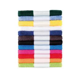 K1 Serviette éponge en coton, plusieurs coloris disponible, personnalisation incluse.