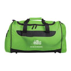 P92 - Sac de sport vert polyester 600 deniers