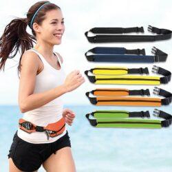 Pochette banane tour ceinture zippé personnalisable marquage 1 couleur inclus