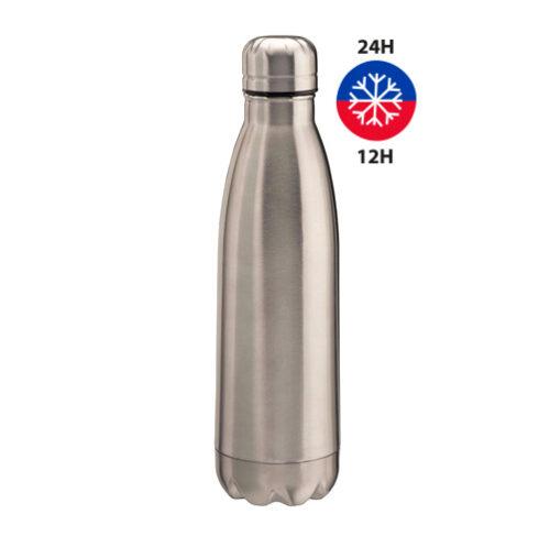 S48-S48A-bouteille thermo double paroi en acier 500 ml argent