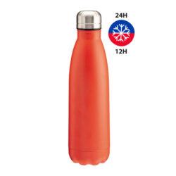 S48-S48A-bouteille thermo double paroi en acier 500 ml rouge