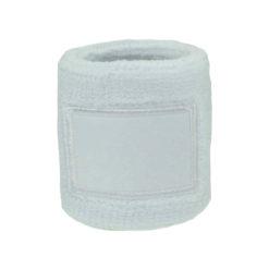 SP60 Serre poignet éponge à personnaliser pat sublimation, broderie ou étiquette tissée