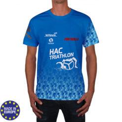tsh1 - teeshirt CLUB polyester flocage run SPORT triathlon