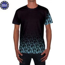 tsh1 - teeshirt CLUB polyester flocage run SPORT triathlon