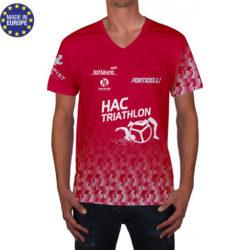 tshv1 - tshirt club polyester dotation a personnaliser avec logo